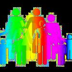 Familie Silhouette pastell 150x150 - Uneheliche Kinder