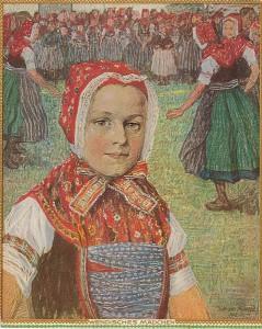 William Krause - Wendisches Mädchen (1912)