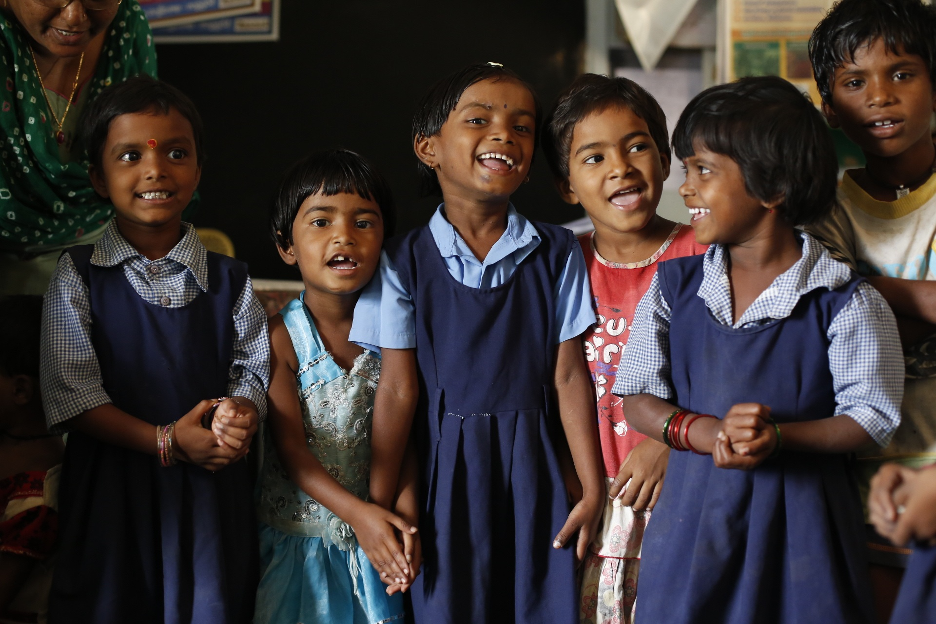 Indisches Klassenzimmer