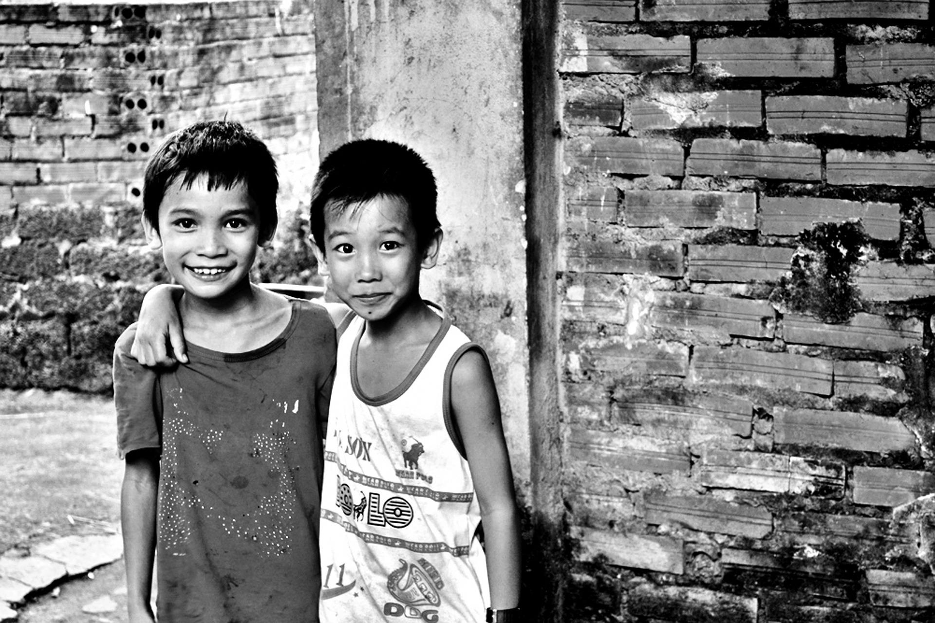 Kinder, Freunde
