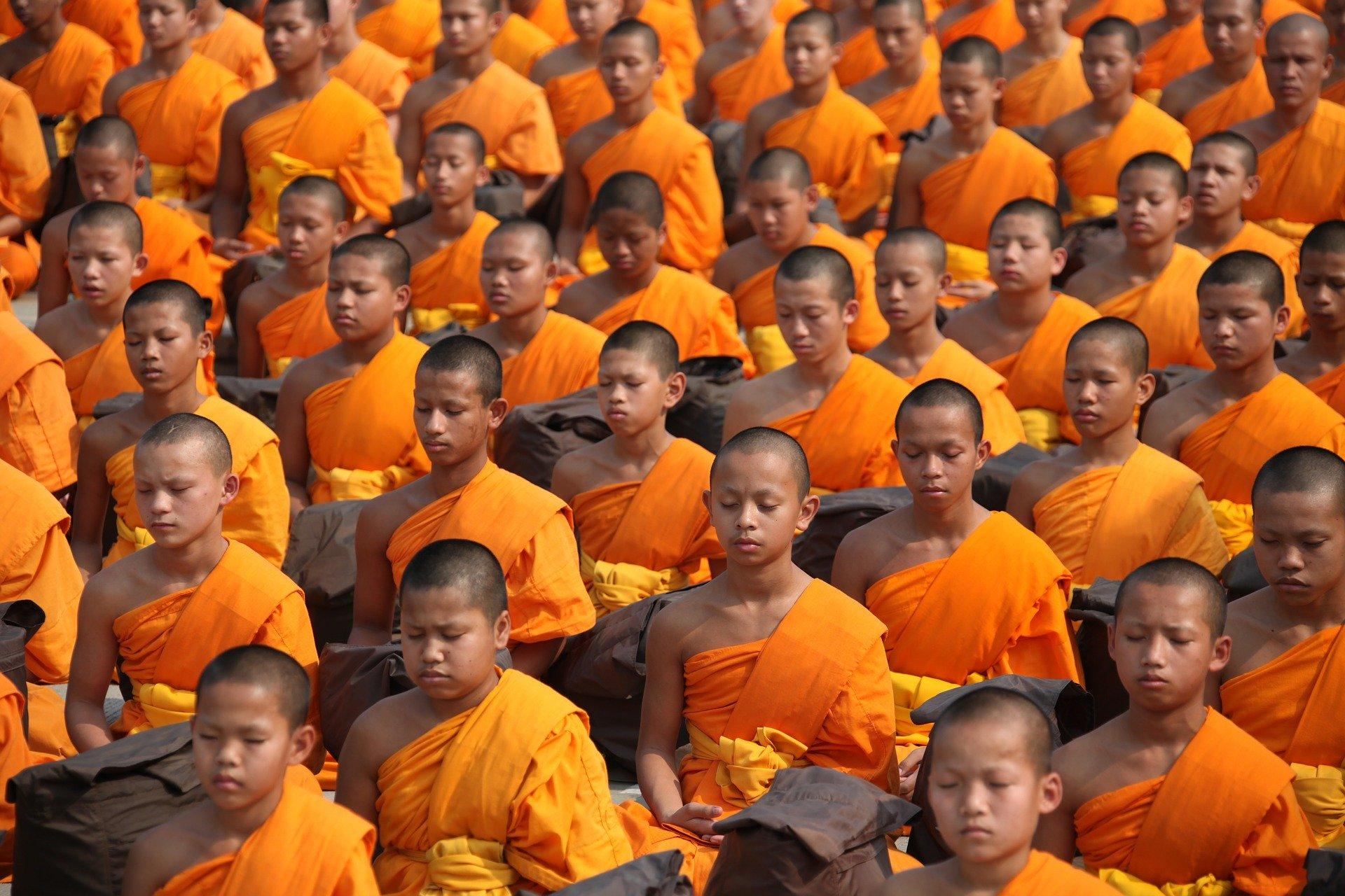 Thailand buddhistische Mönche